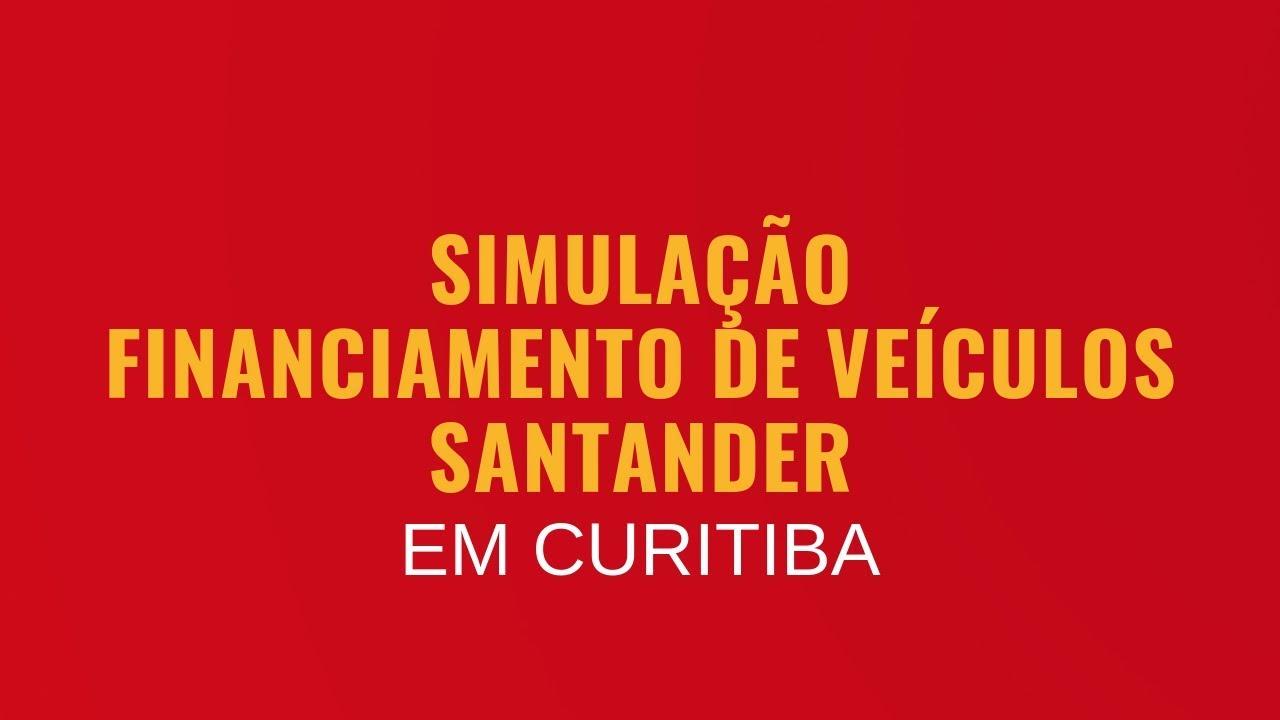 Simular Financiamento de Veículo no Banco Santander