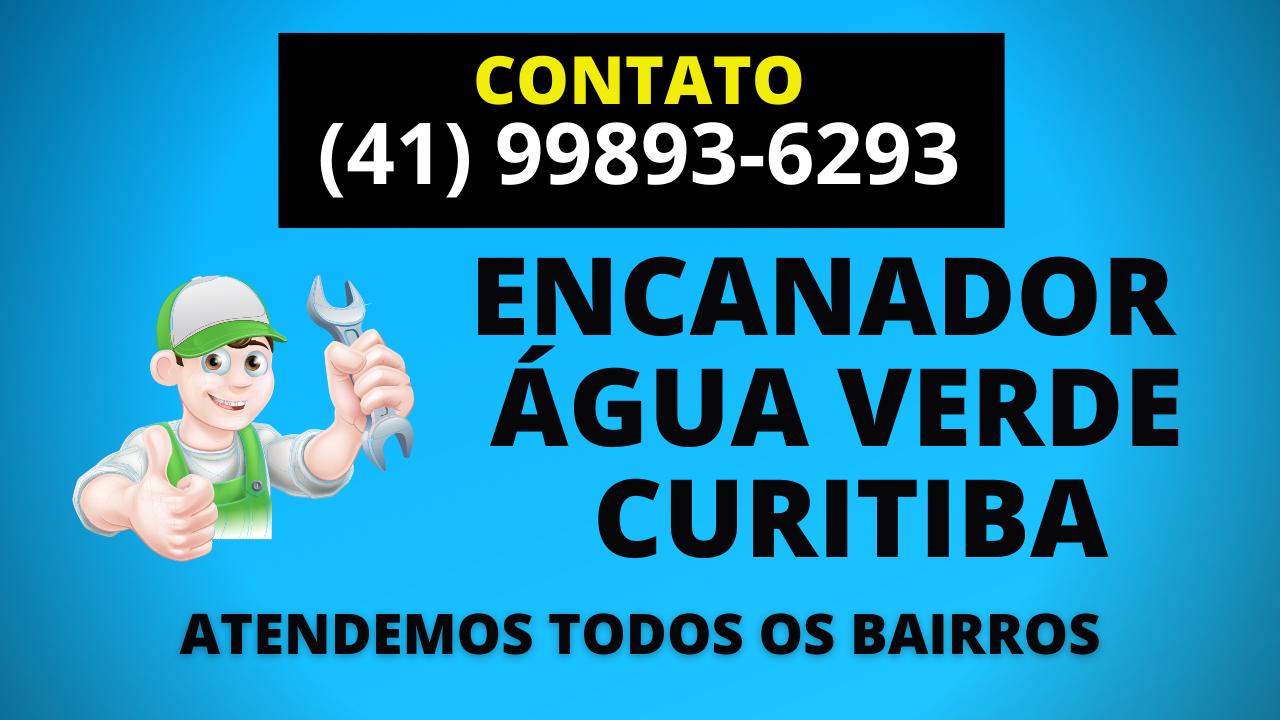 Encanador Agua Verde Curitiba